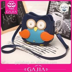 made in China 2015 hot sale korea fashion owl shoulder bag ,messenger bag for girl