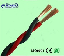 Hot sale! Professional factory bulk sale high quality 12/14/16AWG 2core copper red&black speaker cable