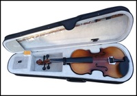 4/4 Satin Antique Violin with Hard Case, Bow.