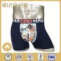 Fábrica profissional fornecer 100 cueca de algodão/fotos de homens em transparente boxer