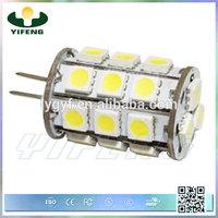 hot sale G4 lamp holder 5050 smd led specifications