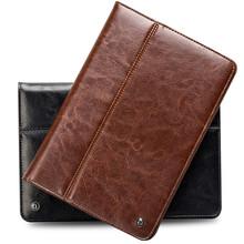 QIALINO top quality newest genuine leather case for ipad mini &mini 2 &mini 3 case