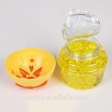 Loving family 100g DIY fragrance deodorizer crystal beads air freshener/OEM logo available