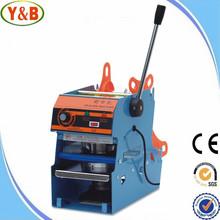 High quality hot sale manual semi automatic plastic cup sealing machine