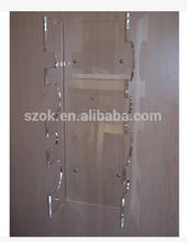 new arrival wall-mounted acrylic wine rack wholesale