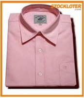 Man Standard Cotton Business Shirt Overstock