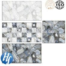 Hy14-1529 3d stampa inkjet fiore e plaid interni e rivestimenti pavimento del bagno in ceramica
