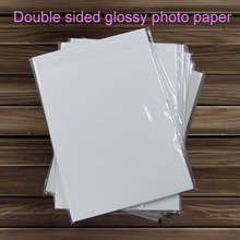 300g Trade assurance offer free sample high glossy cast coated photo paper double sided photo inkjet paper