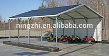 Structural Steel Frame Car Shelter 6x6x3.5m