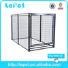 large outdoor stainless steel pet cage