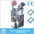 Nd-f40 / 150 3 lados o 4 lados de sellado automático Omo embalaje de polvo de lavado de la máquina