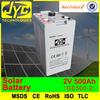 power battery 2v 500ah, solar storage battery,500ah solar battery for solar system