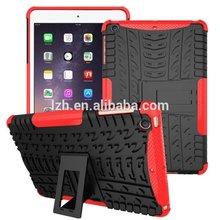 Antiskid tread 2 in 1 Kickstand Tough Armor Case for iPad Mini 1/2/3