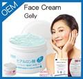 /oem y odm de la piel blanco crema para la cara/crema hidratante/gelly