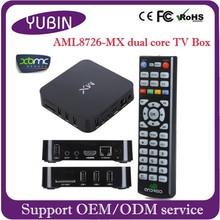 Best upgrade media player firmware android smart tv box 4.1 MX Mali-400 GPU