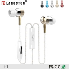 Langston Best Earbuds with High Quality Sound for Mobile Phones Headsfree