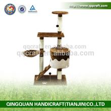 QQ factory popular cat tree condos & cat tower tree & cat tree post