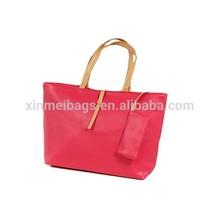 2015 China export hot sale cheap women handbag with a small purse