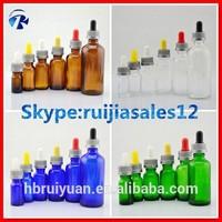 Gold supplier empty glass dropper bottle e cigarette liquid flavors