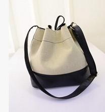 New trend fancy nice canvas handbag alibaba supplier wholesale lady shoulder bag