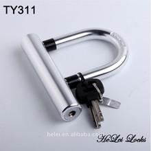 TY311 Tonyon GOOD QUALITY mini lock Bicycle U lock