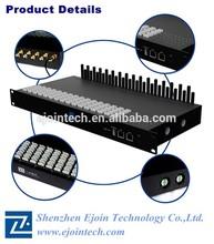 Alta ACD / ASR terminal de voip dispositivo Ejointech sip gateway gsm 32 portos goip