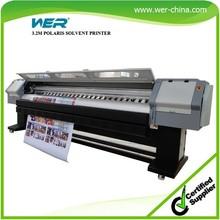 3.2m infinity solvent printer spare parts polaris print heads 512 15pl head solvent printer WER-P3208