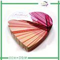 personalizado caixa de papel de embalagem de chocolate