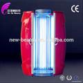 Nuevos productos calientes para 2015 camas solares/cabina de bronceado para la venta certificado tuv 48 con piezas de la lámpara uv