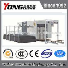 YC1320/1520/1650 Semi Automatic Corrugated Board Die Cutting Machine with Stripping