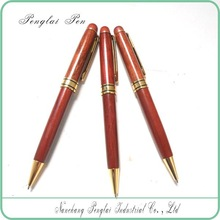 promotional wood pen with logo engraving cheap wood ballpoint pen