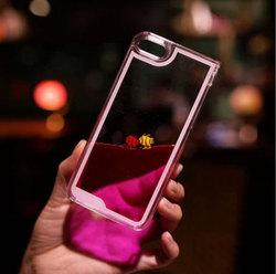 For iPhone 6 Cute Animal Fish Case, Moving Liquid Cute Fish Case Cover Swimming Pool Case For iPhone 6
