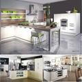 à l'importation en chine des produits modernes de haute laqué brillant modèles de cuisine modulaire