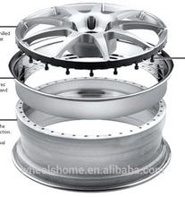 3pcs forged alloy wheels rims