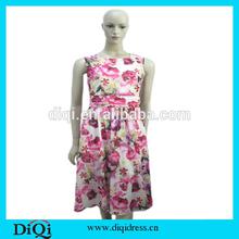 OEM Service China Wholesale Hot New Products Sexy Long Printed Chiffon Evening Prom Dress