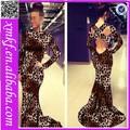 2014 top preto vender vestido de noite grávida kf8026