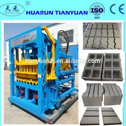 QTY4-20C brick making machine / hollow brick making machine / interlocking brick machine