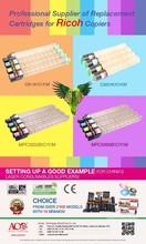 Color Copier toner cartridges MPC3502 BK/C/Y/M for Ricoh MPC3502 Copiers