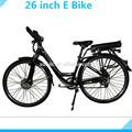 """250w brushless hub motor 36v 10ah bateria de lítio 26"""" bicicleta elétrica para venda"""