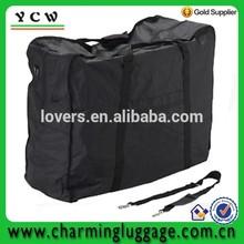 foldable bike carry bag with long shoulder strap