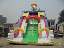 clown big inflatable toboggan slide outdoor china inflatable slide