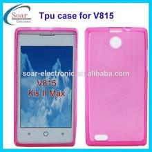 China wholesale soft gel tpu case for ZTE V815 Kis II Max