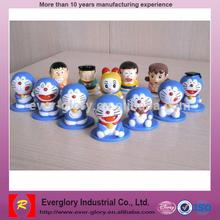 Plastic Toys Lovely Funny Doraemon Figure Crtoon Character Doraemon Costume