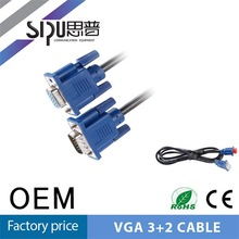 SIPU 2 Monitor to 1 Pc Vga y Splitter Cable Vga Cable Max Resolution 1.5M