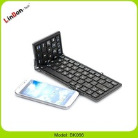 Mini Aluminum Folding Keyboard, Pocket Size Bluetooth Keyboard, Mini Wireless Bluetooth Keyboard For iPad For Samsung Tab