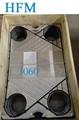 Intercambiador de calor de empaque, apv reemplazos de empaque, apv j092
