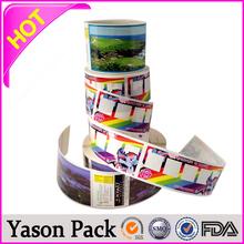 Yason mobile phone led flash sticker wood sticker for ps4 sticker