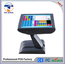 Newest 2015 Fanless Capacity LCD Touch Screen Restaurant POS System