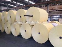 yellow glassine silicon release paper