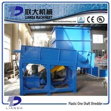 Single Shaft Design and Waste Plastic Crusher Use plastic granulator crushing machine